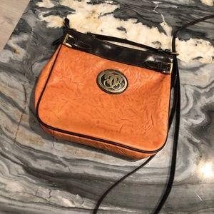 Sharif Leather Cross Body Bag